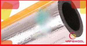 قیمت عایق الاستومری لوله ای با روکش آلومینیوم